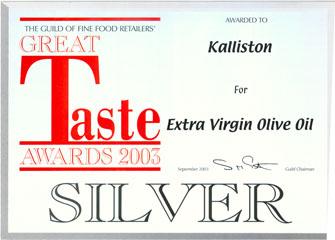 Kalliston Silver 2003